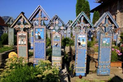 Cimitero Allegro di Sapanta, Romania