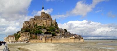 Mont Saint Michel, Francia
