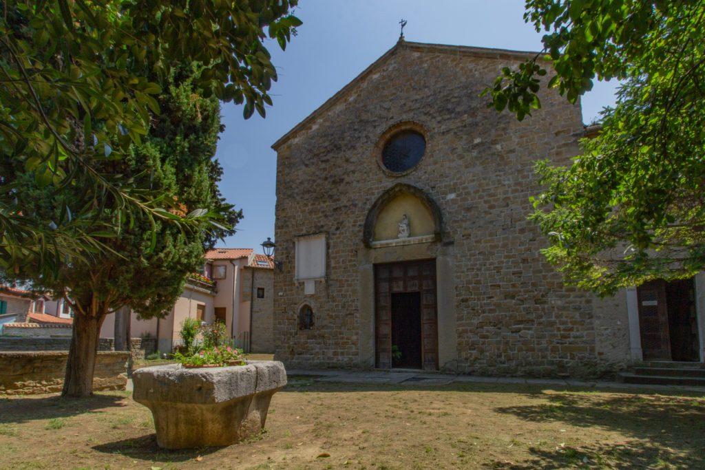 Muggia, Chiesa di San Francesco