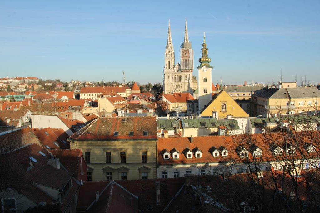 Zagabria, panorama