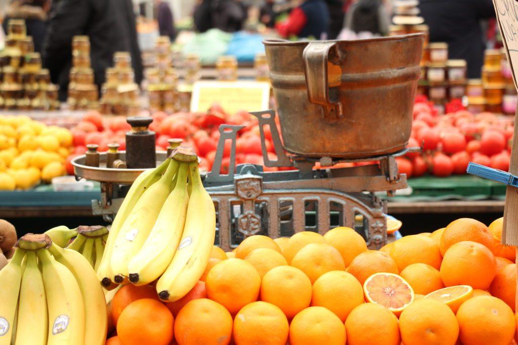 mercato di frutta e verdura di Dolac