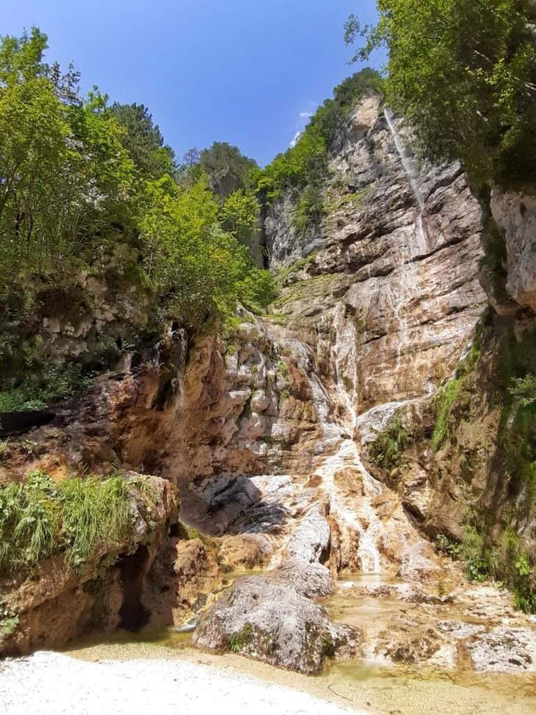Cascata Rio Montasio