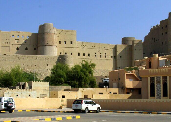 Oman, antica città arroccata