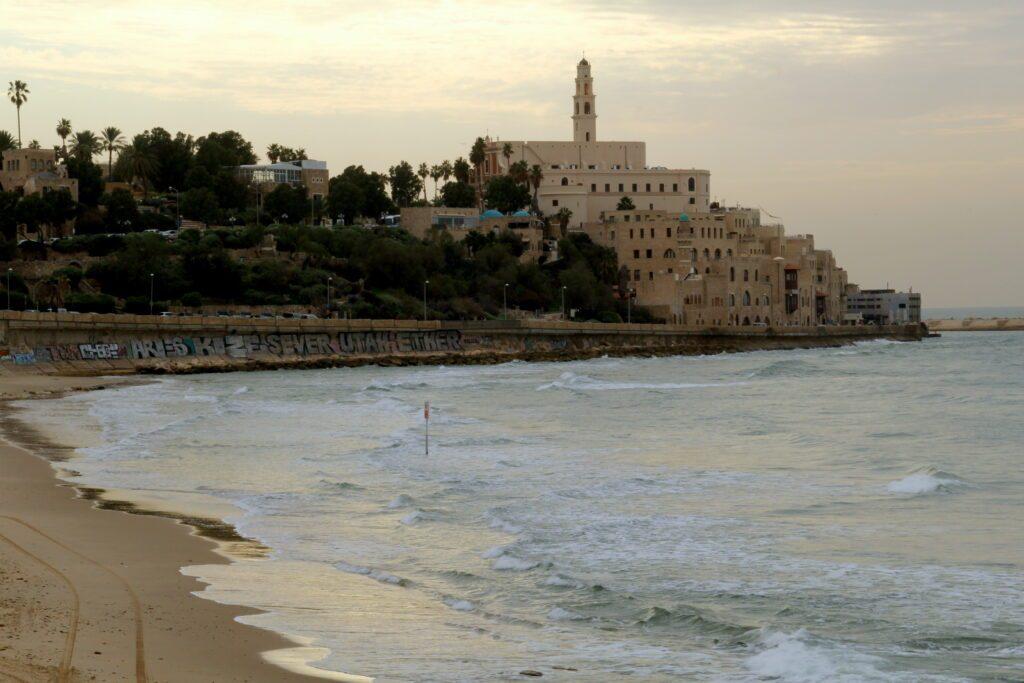 Jaffa vista dal lungomare di Tel Aviv
