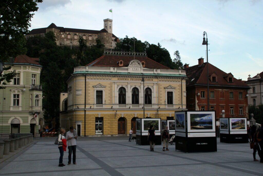 Lubiana, Kongresni Trg, Filarmonica