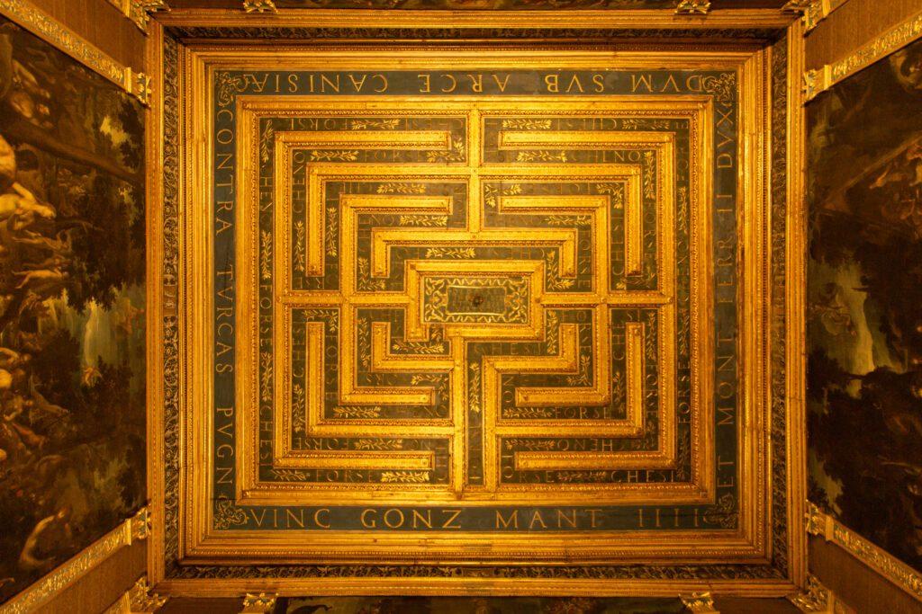 Mantova, Palazzo Ducale, Stanza del Labirinto
