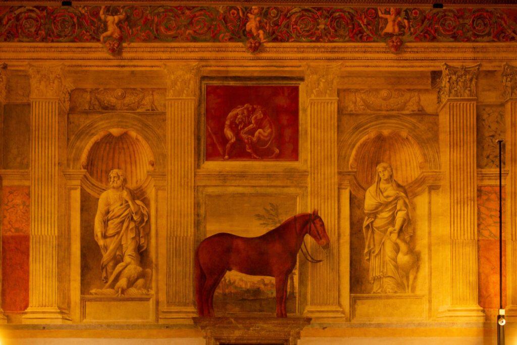 Mantova, Palazzo Te, Sala dei Cavalli