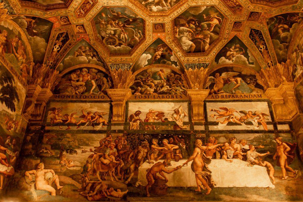Mantova, Palazzo Te, Camera di Amore e Psiche
